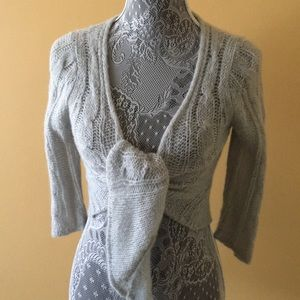 Sweaters - Soft and Subtle Baby Blue Overlay